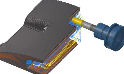 Mastercam-3D-多面殘料粗加工