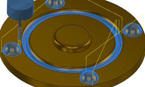 Mastercam-3D-曲面流線等距加工