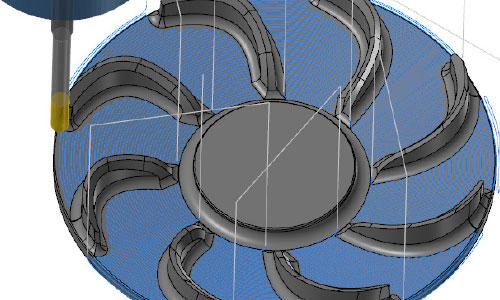 Mastercam-3D-最佳化區域等距加工