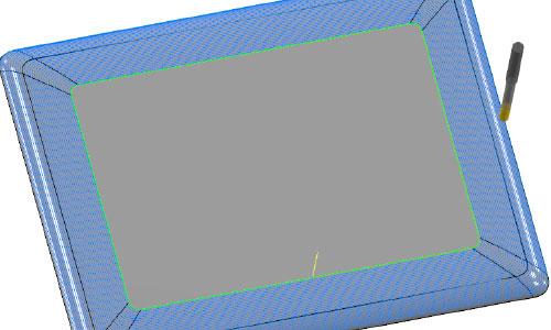 Mastercam-3D-螺旋等距加工