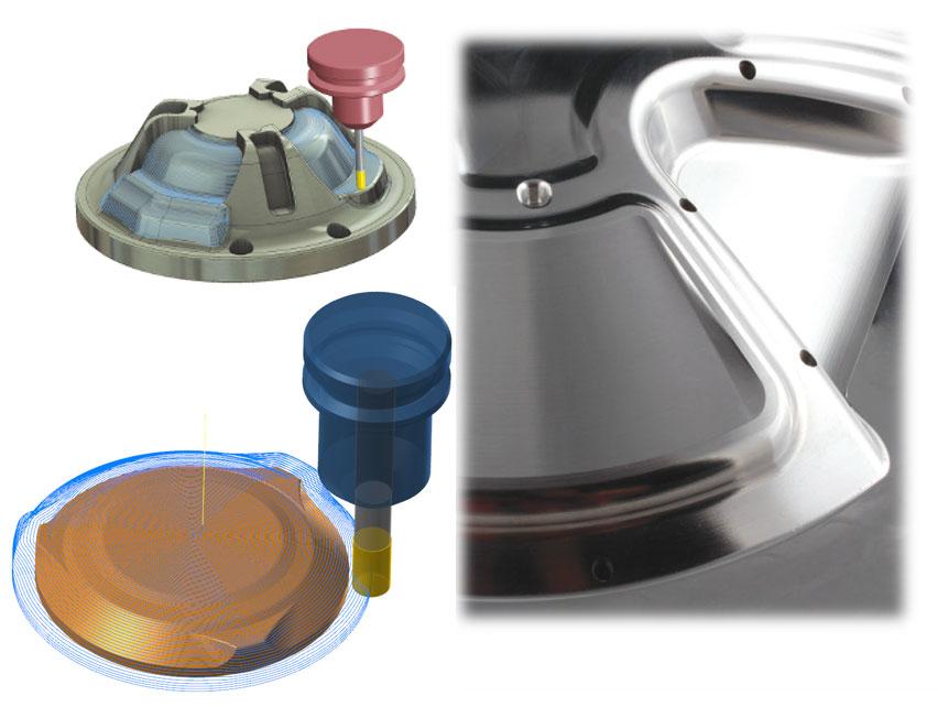Mastercam-3D-高品質表面精加工