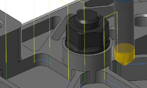 mastercam-2.5d-自動避讓倒角加工